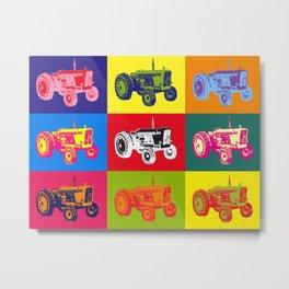 David Brown tractor Metal Print