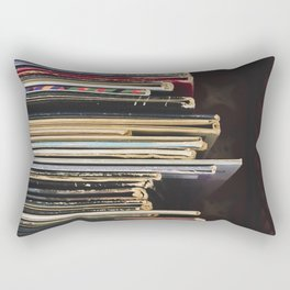 Antique Records Rectangular Pillow
