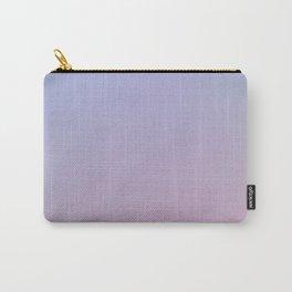 LAVENDER - Minimal Plain Soft Mood Color Blend Prints Carry-All Pouch