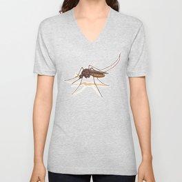 Mosquito by Lars Furtwaengler | Colored Pencil / Pastel Pencil | 2014 Unisex V-Neck