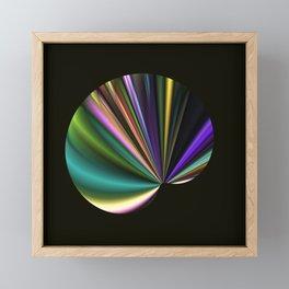 A Fan in Abstract Framed Mini Art Print
