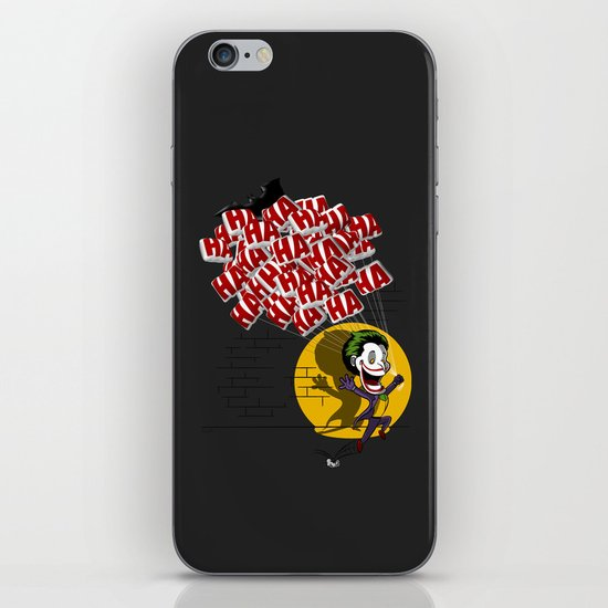 Jokahahaha iPhone & iPod Skin