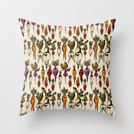 Don't forget your roots Throw Pillow