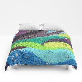Color Entropy I Comforters