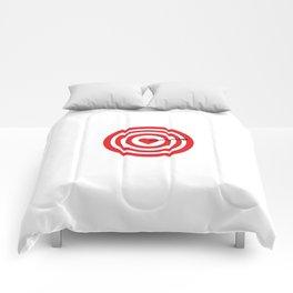 Target with Heart Comforters