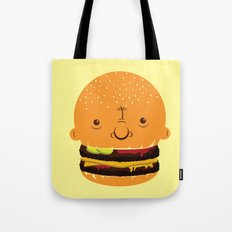 Cheeseburgerhead Tote Bag