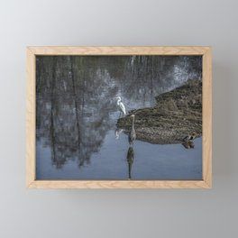 Reflections of My Feathered Friends Framed Mini Art Print