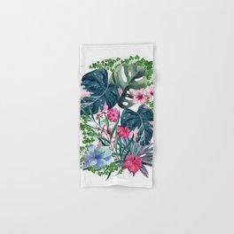 Tropical Plants Hand & Bath Towel