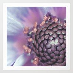 Violett Flower Art Print
