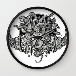 Medusa Mandala Wall Clock