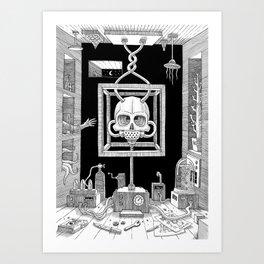 The Laboratory Two Art Print