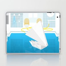 ORIGAMI CATAMARAN Laptop & iPad Skin
