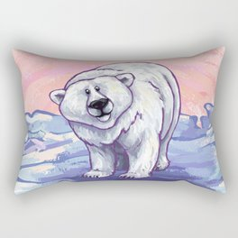 Animal Parade Polar Bear Rectangular Pillow