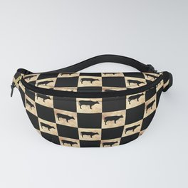 COW CHECK Fanny Pack