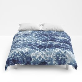 Indigo Batik Abstract Comforters