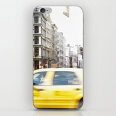 Yellow Cab iPhone & iPod Skin