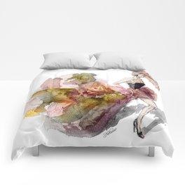 Autumn Girl  Comforters