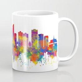 Phnom Penh Cambodia Skyline Coffee Mug