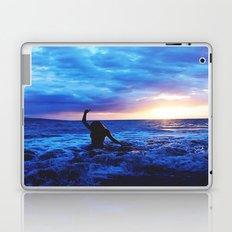Sunset Swimmer Laptop & iPad Skin