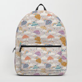 Rainbow Spring Showers Backpack