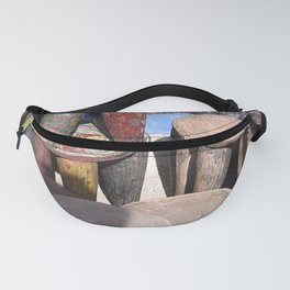 African village Fanny Pack
