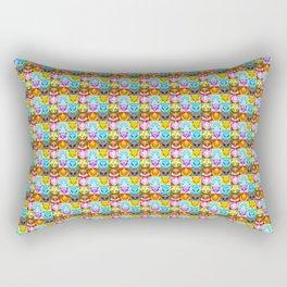 Eeveelutions Quilt Rectangular Pillow