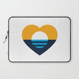 Heart of MKE - People's Flag of Milwaukee Laptop Sleeve