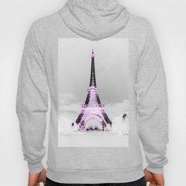 pariS Black & White + Lavender Hoody