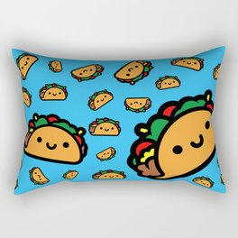 Happy Taco Rectangular Pillow