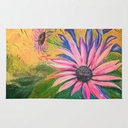summer flower Rug