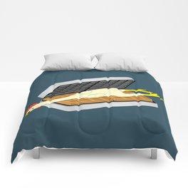 Rubber Chicken & Waffles Comforters