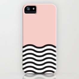 Waves of Pink iPhone Case