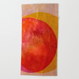 Taste of Citrus Beach Towel