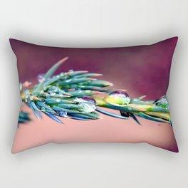 Pine After Rain Rectangular Pillow