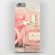 Delicious perfume still life with roses iPhone 6s Plus Slim Case