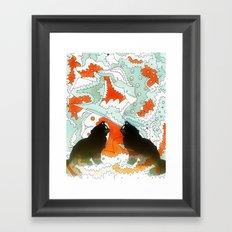 Cats Collaboration Framed Art Print