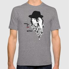 Jack White Cuts Like a Buffalo Tri-Grey LARGE Mens Fitted Tee
