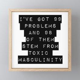 Toxic! Framed Mini Art Print