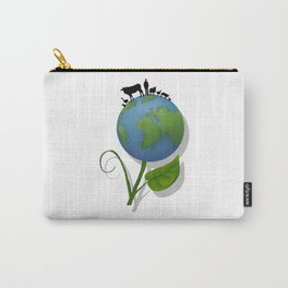 Vegan Universe Carry-All Pouch