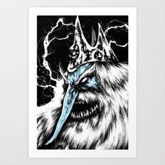 Adventure Time - Ice King Art Print