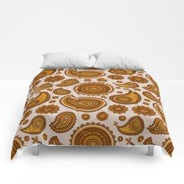 The Ethnic Paisley Comforters
