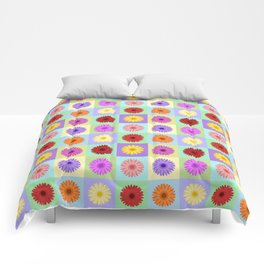 Gerbera Daisies Bright Color Design Comforters