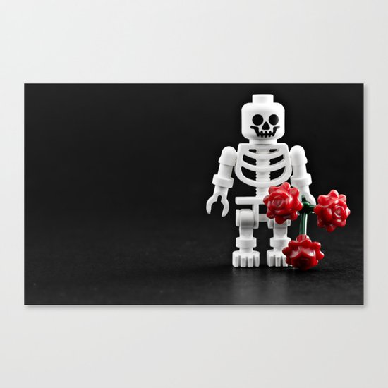 Love me? Canvas Print
