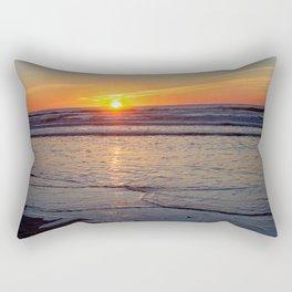 Sunrise over the Atlantic Rectangular Pillow