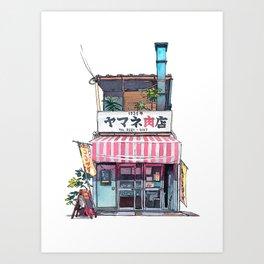 Tokyo storefront #01 Art Print