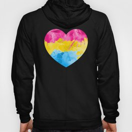 Pansexual Heart product LGBTQ Pride Gift Idea Hoody