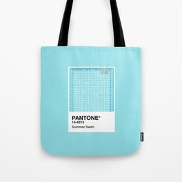Pantone Series – Summer Swim Tote Bag