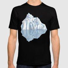 Iceberg MEDIUM Black Mens Fitted Tee
