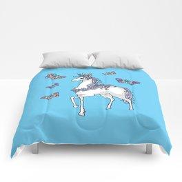 Cute Unicorn Comforters