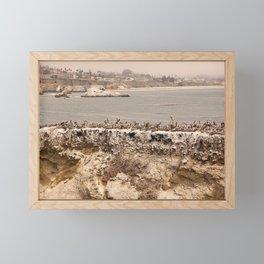 Shell Beach Framed Mini Art Print
